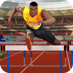Choose your favourite runner among the 8 available and beat all the others in a breathtaking race! Jump the hurdles perfectly to not be overtaken by your opponents. Jump on the winner's podium to join the next race and win all the 12 stages to be appointed sole winner!  Use the space bar to jump at the right moment. Perform a perfect jump to get more points.