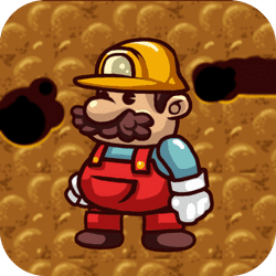 Please, help Rudy the miner to get out of the mine and bring as many diamonds you can get! Enjoy the game!