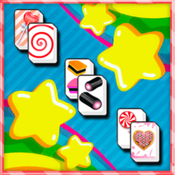 Enjoy this coloroued mahjong game with sweety symbols!