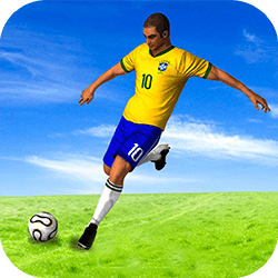 You control a soccer player that must avoid opponent's tackle. Your aim is to avoid enemies for as long as possible, each tackle suffered cost you a life (you have three lives). The game has an unique level that gradually become more difficult.