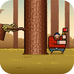 Become a timberman, chop wood and avoid the branches. Sounds like an easy task? It's easy to play but hard to master.. Take your axe as every lumberjack does and chop the tree as fast as you can!