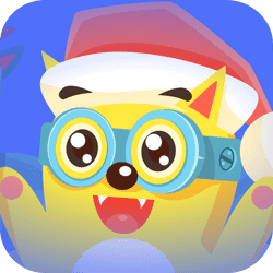 Now things have become more difficult for FlapCat. In this special Christmas version of the hit Flap Cat, we bring a new level of difficulty: there are two reindeers guiding Flap Cat. The game has a new design and christmas features.