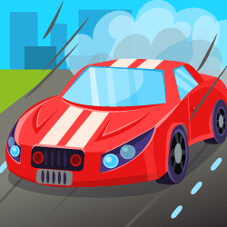 Control a sport car avoiding opponents vehicles for as long as possible, each crash will costs you a life (you have three lives by default).
