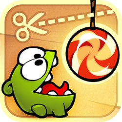 Cut the rope to feed candy to Om Nom! A mysterious package has arrived, and the little monster inside has only one request: CANDY! Collect gold stars, discover hidden prizes and unlock exciting new levels in this addictively fun, award-winning, physics-based game!