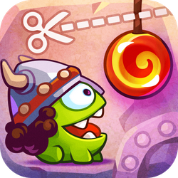 Join Om Nom as he travels back in time to feed his ancestors with candy. Cut the Rope: Time Travel is a completely new adventure filled with time-traveling, candy-crunching, physics-based action!