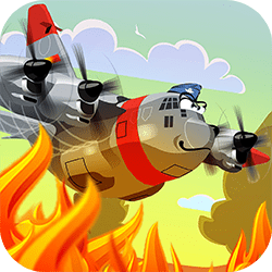 A multi-level arcade flying game where you must extinguish fires, avoid trees, chase other planes and complete a whole bunch of other missions! Collecting gems increases your pilot ranking and there is a log book to track progress.