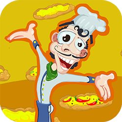 Welcome to the Crazy Pizza! Run your own Italian pizzeria! In this funny arcade game you need to sell as many pizzas as you can - before any pizza runs out of the screen.
