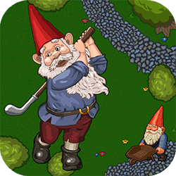 Do you know what garden gnomes do when nobody's watching? They are playing