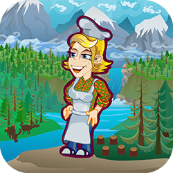 Cutting down trees in Canada is a very hard work. That's why Canadian lumberjacks like to eat huge steaks every now and than. Our heroine Sally has just opened a brand new Selly BBQ Joint that specialise in lumberjacks favourite dish.