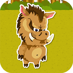 Little Waldy the wild boar needs to make preprations for coming winter. Move the acorns to the designated areas and pass 12 levels in this stunning sokoban game. It's Snack Time!