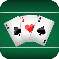 Three Cards Monte is an HTML5 card game. Enjoy this stylish version of one of the most classic cards games!