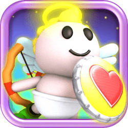 Flap Eros' little wings and try to save St. Valentines Day! Collect hearts and different equipments to protect yourself during the journey!