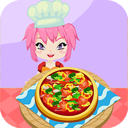 Do you like pizza? What kind of topping do you like most? Ezzy is a young chef and she loves to make pizza so much. She's already an expert at some different pizza recipes. Italian Pizza, Hawaiian pizza, etc she make it all! It would be interesting if you can make your own pizza. Let's try to make The Best Pizza with Ezzy!