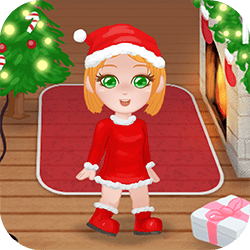 Christmas Girl Dressup