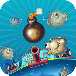 Use your pearls to clear each level by destroying all the sea creatures. If you receive 2 or 3 stars the next level will unlock. Tap and hold your finger to aim, release to shoot the pearl. Buy special features in the shop during the game!