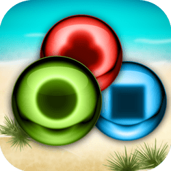 Marble Smash is a addicting match-3 game in a relaxing tropical scenery. Puzzle Mode with 400 puzzles to solve and Time Attack mode to fight against the clock!