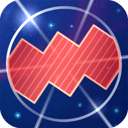 Explore the space and collect all trophies through its energy platforms avoiding dangerous traps on your way! Try to hold on as long as possible in a space race!