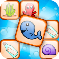 Treasure Link is a mahjong connect game where you dive deep into the ocean in search for a mysterious treasure.
