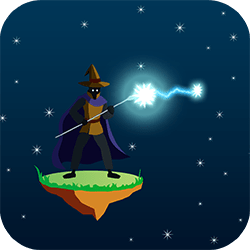 You are a wizard involved in fast-paced magic duels. Observe the specific magic your oponent is using and fight back with the right spell! Quick eyeballs and fingers required!