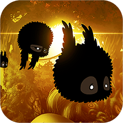 BADLAND is an award-winning atmospheric side-scrolling action adventure platformer set in a gorgeous forest full of various inhabitants, trees and flowers. Although the forest appears to be right out of a beautiful fairy tale, there's something terribly wrong. The player controls one of the forest dwellers to find out what's going on, and discovers an astonishing number of imaginative traps and obstacles on the way.