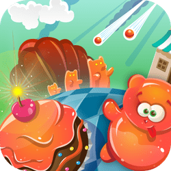 Jelly Bomb has spread all over your kitchen tables! You can get rid of it by dripping it with a jelly remover, but watch out: there are only a few drops left, you will have to use them wisely to ensure the perfect splashing chain reaction!