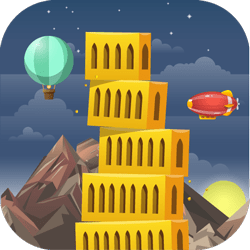 Build your towers in a fantastic futuristic world in the simplest one-click manner! Place floating blocks as precisely as you can and discover all the wonderful locations!