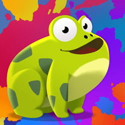 Grab your br-r-r-rush and paint frogs as fast as you can to score more points and get rewards! Perform epic combos and earn ranks on your way to become the best frog painter in the universe.