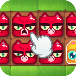 A cute take on the grid puzzle game: your goal is to fill the board with happy cats by switching out all of the grumpy ones. Think ahead and switch the cats around until you solve all 60 puzzles!