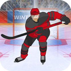 Choose your hero and compete against 3 fierce opponents in the Ice Hockey event. Avoid the attacking players to approach the goal line. Once in front of the goal time your shot to score! Will you win a Gold Medal by scoring in all 3 periods? Be a Hockey Hero!