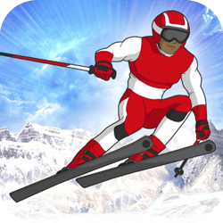Choose your hero and compete across 3 courses in the Slalom event. Steer between the slalom gates and collect boosts to improve your times. Will you win a Gold Medal? Be a Slalom Hero!