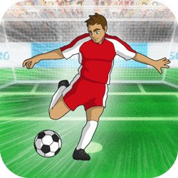 Choose your hero and compete against 3 fierce opponents in the World Soccer event. Will you win a Gold Medal by scoring all 3 chances? Be a Soccer Hero!