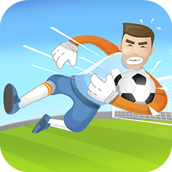 You are the goalkeeper starting his career from scratch: use power-ups to get better and try to catch the ball. Win all cups and become the champion of all leagues!