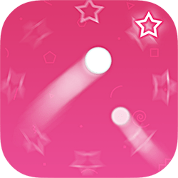 Tap, hold and shoot the dot into the box. Collect stars and unlock new dots. Play with or without your friends on the same device. Play more, Shoot more.