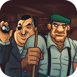 Mafia Billiard Tricks is a billiard arcade game in which you can play the challenging game of billiards. You are not only playing for fun though; your opponents are part of the infamous mafia. You must earn their respect by beating each crew member!