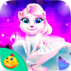 Express your fashion and unique style to transform your little kitty in real beauty like a superstar in this amazing Superstar Kitty Fashion Award game with new hairstyles and fabulous makeover. Start with a spa treatment for a lovely facial and make her skin smooth, shinny, and glowing to look good at the award show.