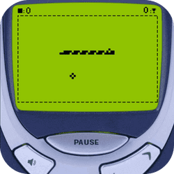 Play Snake like it is 2000. SnakeBit 3310 is aa remake of the original Snake, complete with dot-matrix display and monotone sounds. Rewind time and enjoy this fantastic retrogame like in the past. SnakeBit 3310 is playable online by mobile and desktop devices