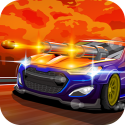 Unleash your fury on the highway a shoot down everything that moves! Tip: if you can't shoot it, take it... those are power-ups! Upgrade your car to withstand a longer ride, beat bosses and get as far as you can so you can compare your highscores with others! Become the furious king of the road!