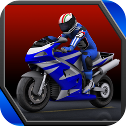Thrilling racing game. Enjoy driving a motorcycle on an endless highway in traffic. The more dangerously you drive, the more cash and points you earn. With cash you can buy better and faster machines.  Become a rebel and cause havoc on the road! Just try not to crash when you're driving at insane speeds.