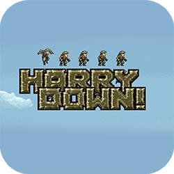 Harry Down is an endless HTML5 escape game inspired by Metal Slug. You need to control Harry to get down the escape from the Doom Machine!