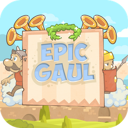 Help a brave gaul to escape from prison, and back to his family. Collect stars for improve your skills and beat roman warriors.