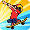 Game Skateboard Wheelie