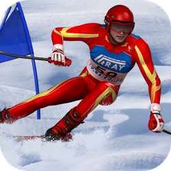 Slalom Ski Simulator is a HTML5 Sport Game.  Go around gates to complete the track and try to improve your best time on each track!